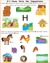 Nursery English-Concept Based : Letter H
