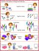LKG : Maths Worksheets