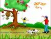 UKG : English Vocabulary Building Worksheets